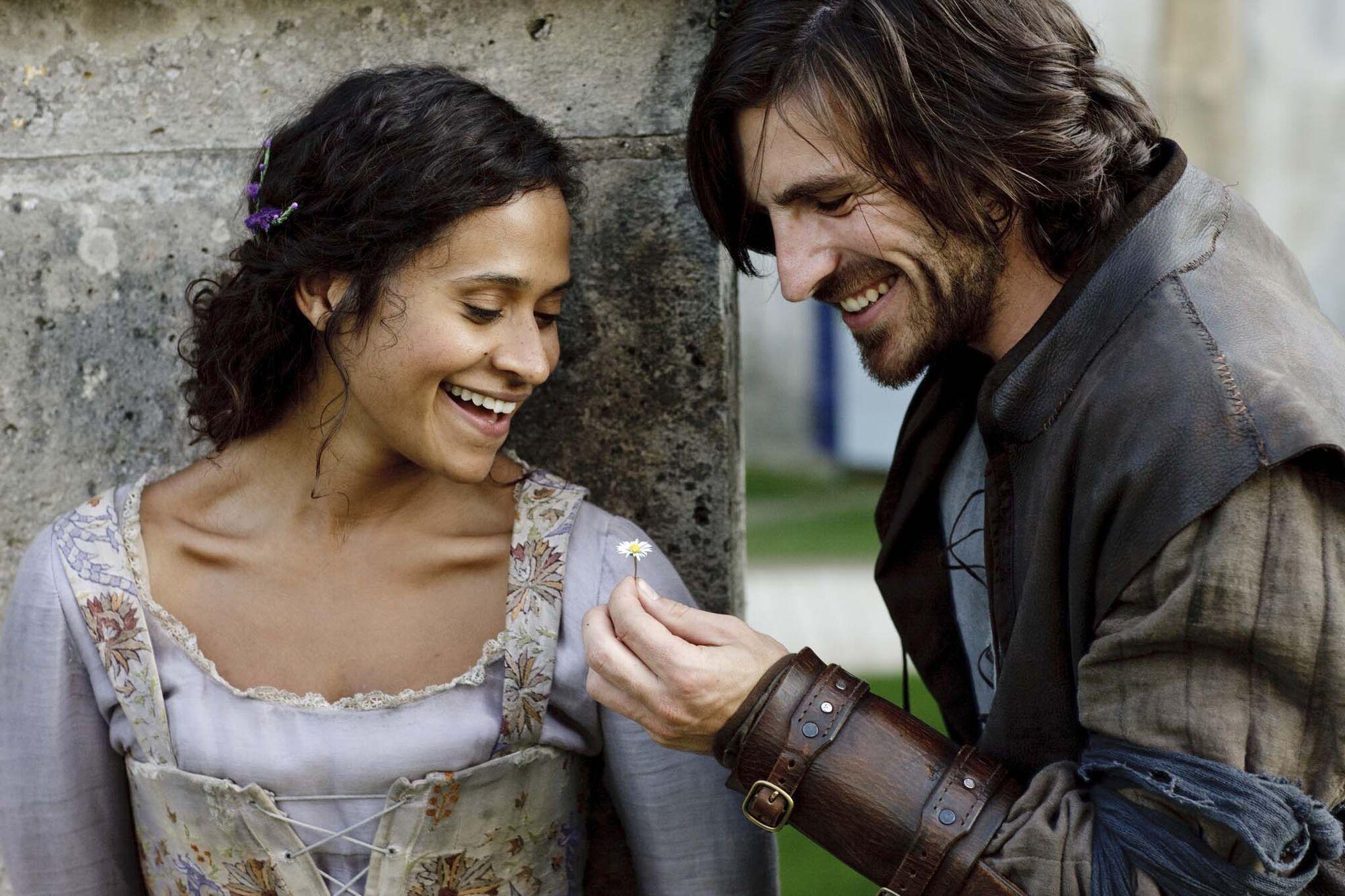 Merlin season 1 episode 7 2008 - Gwen Angel Coulby And Gwaine Eoin Macken