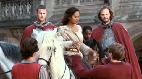 Merlin - The Knights with the future Queen