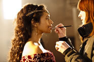 Angel Coulby Behind The Scenes Series 5-12