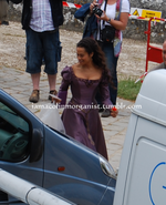 Angel Coulby Behind The Scenes Series 5