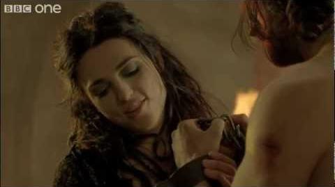 Gwaine and Morgana - Merlin - Series 4 Epsiode 13 - BBC One