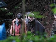 Colin Morgan and Alfie Stewart Behind The Scenes Series 5