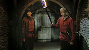 Arthur and merlin
