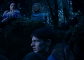 Merlin, Morgause and Morgana
