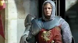 Arthur going to fight valiant