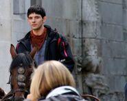 Colin Morgan Behind The Scenes Series 5-18