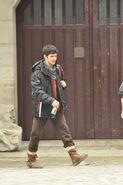 Colin Morgan Behind The Scenes Series 5