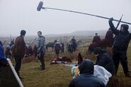 Colin Morgan and Bradley James Behind The Scenes Series 3