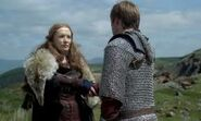 Queen Annis and Arthur
