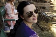 Katie McGrath Behind The Scenes Series 3-2