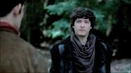 Mordred eyes Merlin