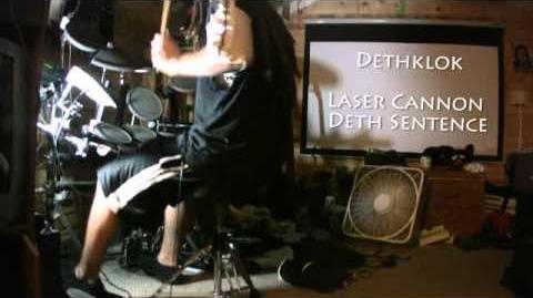 Dethklok - Laser Cannon Deth Sentence Drum Cover