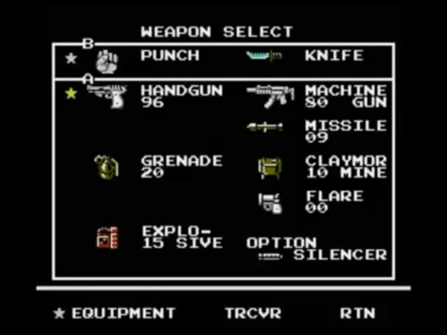 File:Snakes revenge weapon screen.jpg
