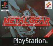 Metal Gear Solid Special Missions boxart