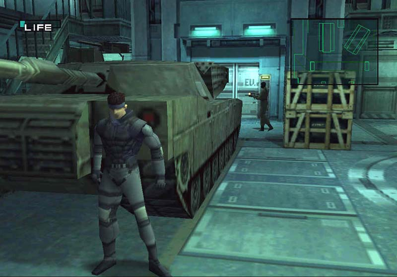 Image result for metal gear solid knocking on wall