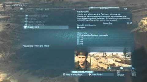 Gamescom 2015 Playstation LIVE MGSV TPP A Hero's