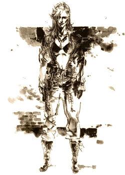 Metal Gear Solid 3 Cast Eva