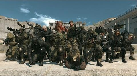 Official METAL GEAR ONLINE GAME PLAY DEMO MGSV THE PHANTOM PAIN (US) ESRB KONAMI