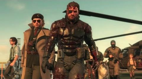 Official MGSV TPP LAUNCH TRAILER METAL GEAR SOLID V THE PHANTOM PAIN (EU) PEGI KONAMI