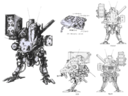 Metal Gear D specs