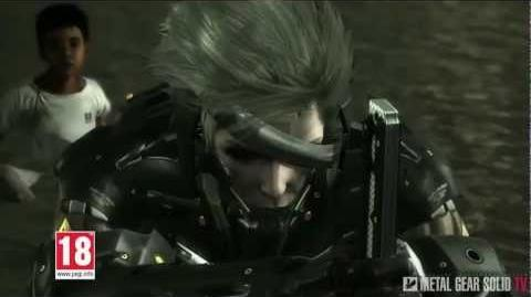 Metal Gear Rising Revengeance - Advertising Video for Europe MetalGearSolidTV