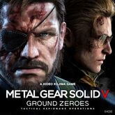 Metal Gear Solid V Ground Zeroes main promotional art