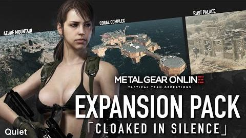 "Official METAL GEAR ONLINE BREAK THE SILENCE - EXPANSION PACK ""CLOAKED IN SILENCE"" (ESRB)"