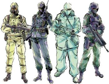 Genome Soldiers