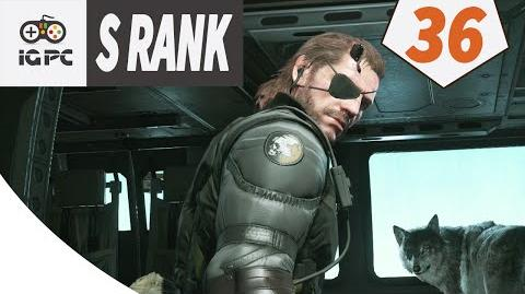 Metal Gear Solid V The Phantom Pain Episode 36 Total Steadlth - FOOTPRINTS OF PHANTOMS S RANK