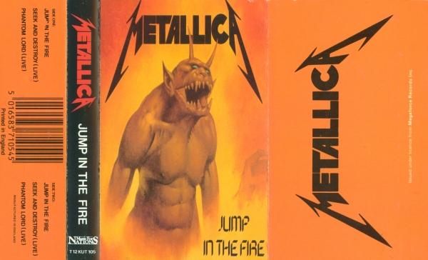 Metallica Jump In The Fire Jump in the Fire  cassette