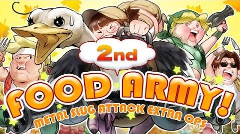 FOOD ARMY! SECONDプロモーションビデオ:MSA EXTRA OPS