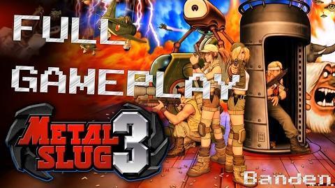 【PS4】メタルスラッグ3 - FULL GAMEPLAY