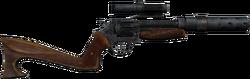 Revolver stock optics silencer 1