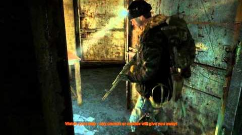 Metro 2033 (Action hardcore challenge walkthrough) Lost Tunnels