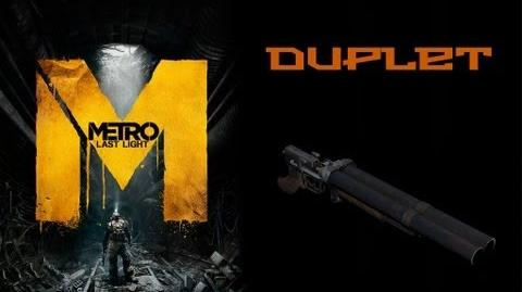 Metro Last Light Weapons (Duplet shotgun)