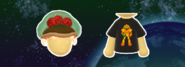 Miitomo Metroid Hat and 8-Bit Shirt