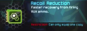 Recoil Reduction