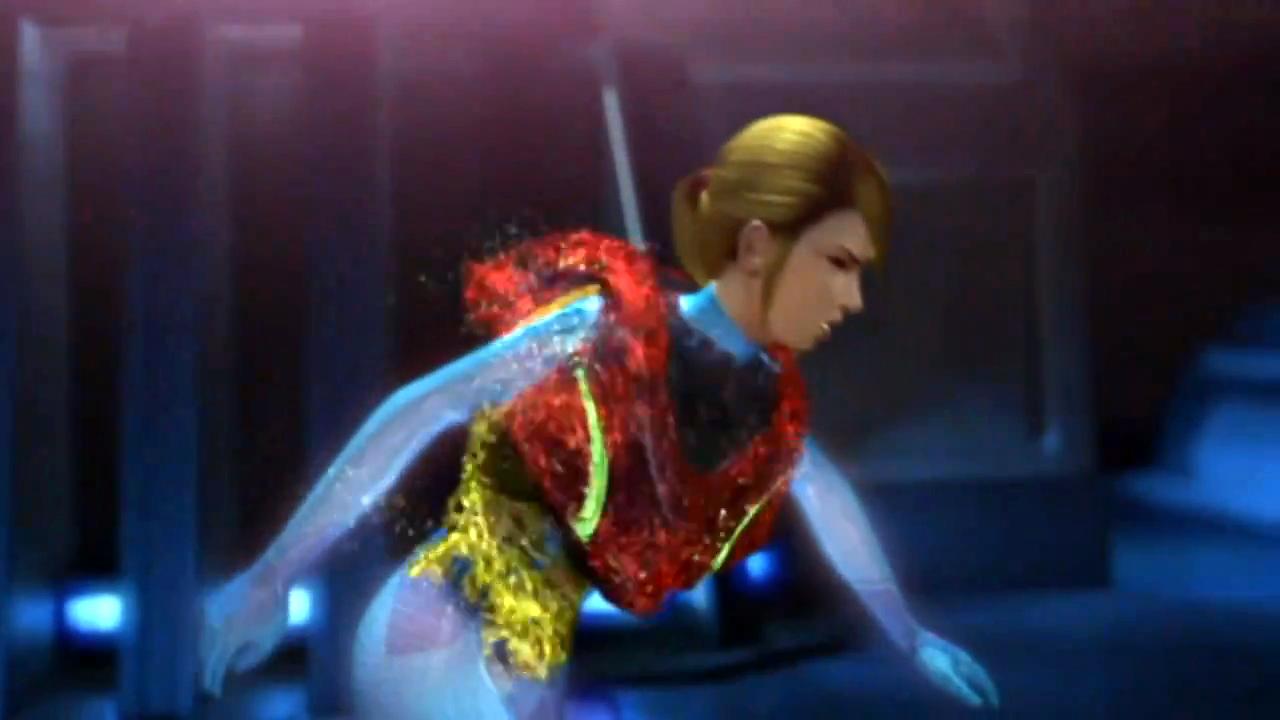 Samus Fusion Suit Sprites maintain the Power Suit