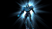 Samus Aran Transform Dark Samus