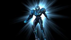 Samus Aran Transform Dark Samus