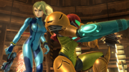 Samus and Zamus SSB4
