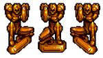 Samus statue KSS