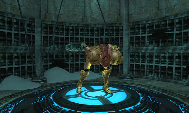 File:Phendrana canyon samus gets boost ball 2 dolphin hd.jpg