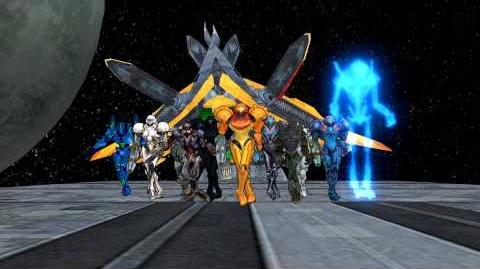 Metroid Samus (and Others) performed MJ's Thriller MMD