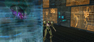 Samus approaches Metroid Aether 2.jpg