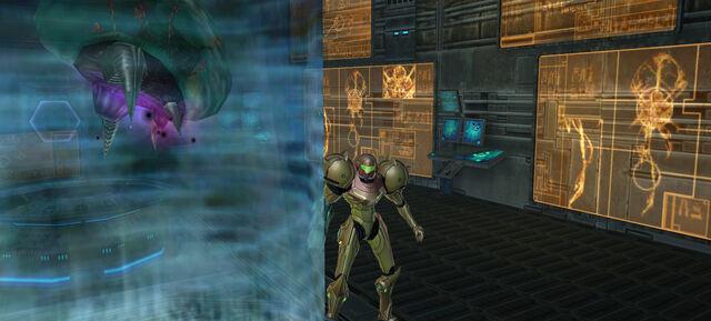 File:Samus approaches Metroid Aether 2.jpg