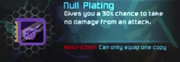 Null Plating