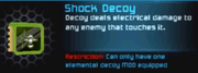 Shock Decoy