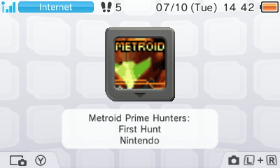 File:MPH First Hunt - 3DS HOME Menu icon.JPG