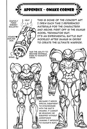 Samus Model Terminator Suit concept
